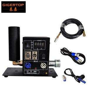 Image 1 - Tiptop Stage Licht Nieuwe Digitale 200W Enkele Pijp Co2 Jet Machine Power Dmx In/Out Afsluitbare Luchtvaart Power plug Lcd scherm