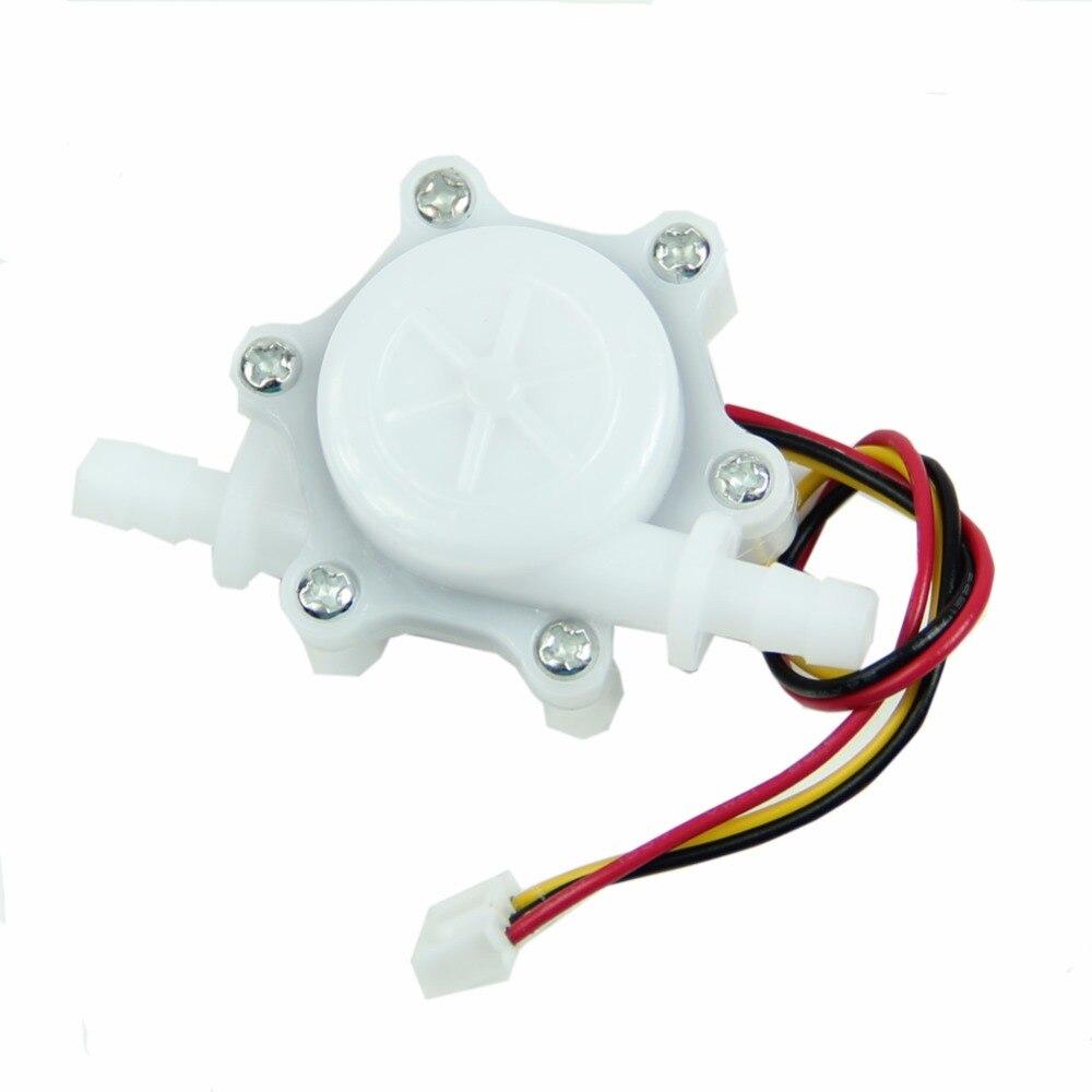 Coffee Maker Water Dispenser Flowmeter Flow Sensor Inner diameter 3mm DC 5-24v