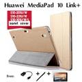 Для Huawei MediaPad 10 Link + Ссылка FHD случаи таблетки 10.1 дюймов S10-201U/W S10-231U/W 233L S10-101U/W/L поддержка набора smart cover