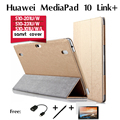 For Huawei MediaPad 10 Link+ Link FHD cases tablets 10.1 inch S10-201U/W S10-231U/W 233L S10-101U/W/L support set smart cover