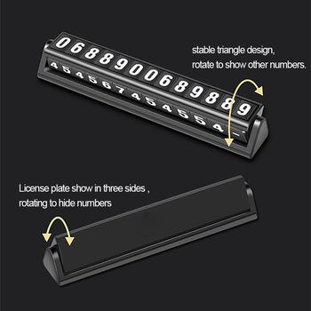 Karta parkingowa Luminous telefon tablica rejestracyjna naklejki lampka nocna tymczasowy Parking przystanek w samochodzie stylizacja akcesoria samochodowe tanie i dobre opinie SEAMETAL Wewnętrzny CN (pochodzenie) Words Z tworzywa sztucznego Inne Inne naklejki 3d 2 3cm Nie pakowane 11 9cm C37684