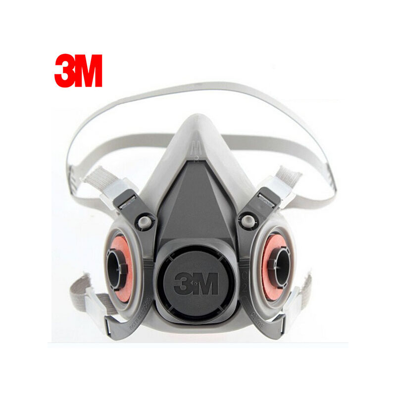 6300 3m Respirator Half Handle Face Gas Lightweight To Reusable Mask Lt017 Simple Low-maintenance