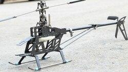 RC remote Kit in fibra di carbonio 6ch 3D Helicopter 450 SE V2 6ch per align trex elicottero