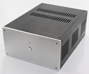 Image 2 - حالة 285*150*370 مللي متر WA109 الألومنيوم مكبر للصوت الشاسيه/فئة A مكبر كهربائي/النقي بعد مكبر للصوت حالة/AMP ضميمة/حالة/DIY مربع