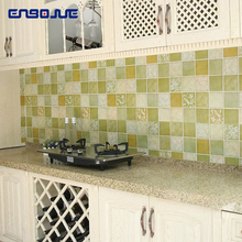 Kitchen Oilproof Stickers High Temperature Stove Waterproof Smokeproof Tile Wall Sticker Wallpaper Self Adhesive Cabinet Sticker