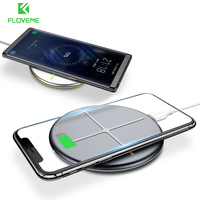 FLOVEME Qi Wireless-ladegerät Für Samsung Galaxy S8 S7 Kante Anmerkung 8 5 Handy Lade Pad Dock Für iPhone 8 10X8 Plus