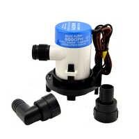 12 V 600GPH 3/4 pompe à eau de cale BP1-G600-02 tuyau de pêche submersible avec pompe de transfert Manuel