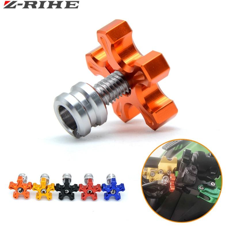 Universal motorrad cnc aluminium m8 * 1,25 kupplung kabel drahtsteller für kawasaki z800 1000 z750 honda cbr 1000 KTM 125 Duke
