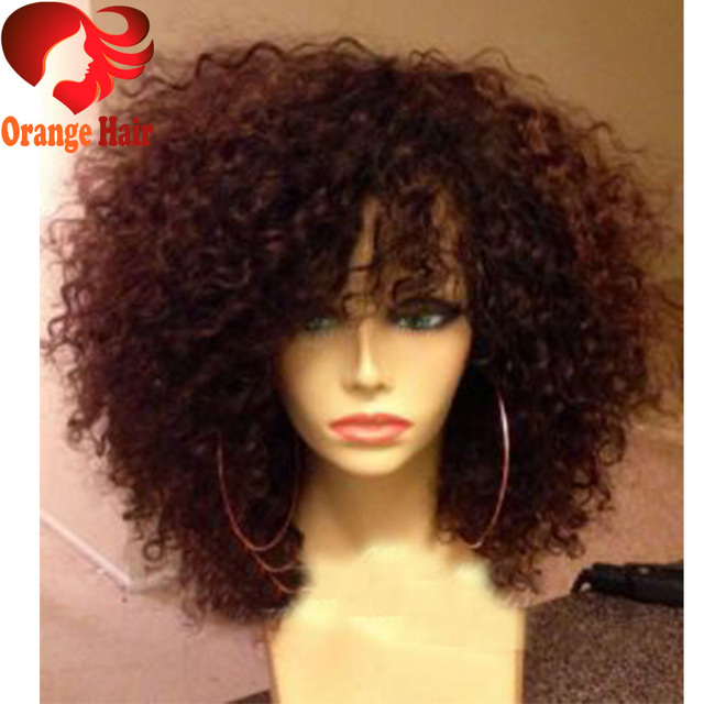 Sensational Curly Hair With Bangs Weave Short Hair Fashions Hairstyles For Women Draintrainus
