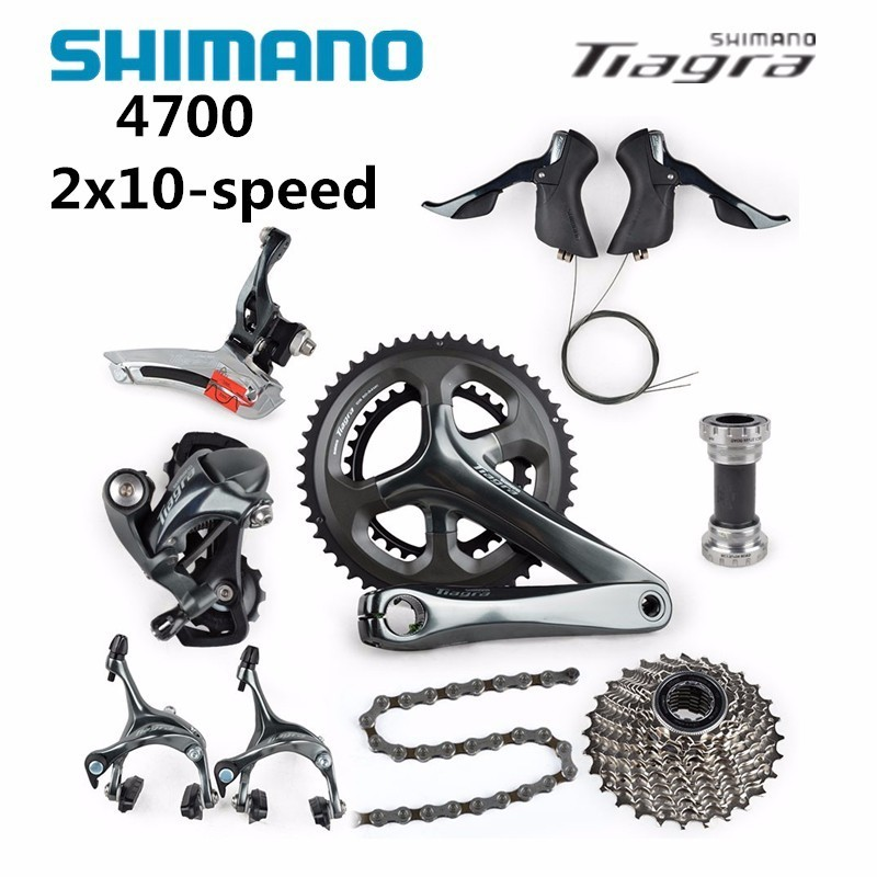 Shimano Tiagra 4700 Road 2x10-speed groupe complet 50/34 52/36 170mm 172.5mm