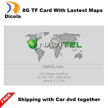 WinCE Android OS 8GB GPS Map Micro SD Card for Car DVD Player Touch Screen Portable Navigator High-quality Metal Plating Chip