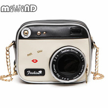 MIWIND Small bags 2018 girl vintage fashion lady camera shoulder bag women
