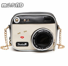 MIWIND Small bags 2017 girl shoulder bag vintage fashion lady camera women handbag chain messenger female crossbody