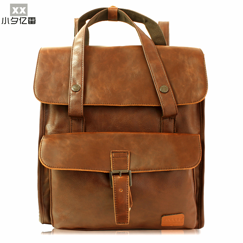 2016 Top Quality Luxury Designer Leather Men Backpacks Women Bag Preppy Style School Backpack Travel Bags Rucksack Bolsas A0165 preppy style school bag women backpack shoulders female travel bags kanken high quality leather backpacks bolsas free shipping