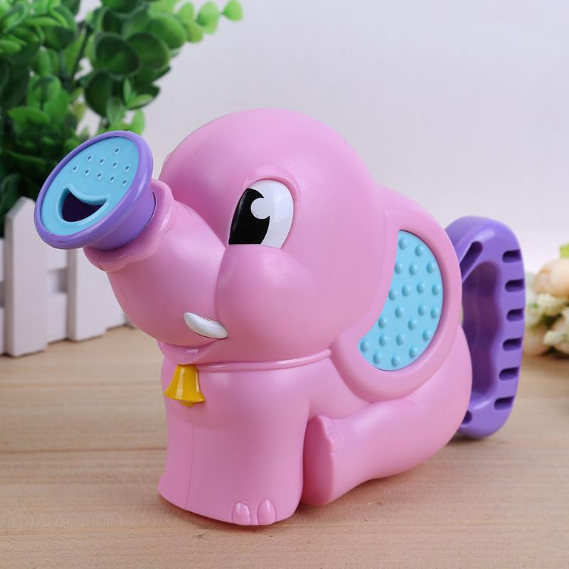 Children Shower Toys Elephant Pattern Bath Pump Water Spraying Toys Baby Beach Toys Swimming Pool Water Spraying Toy Kids Gifts