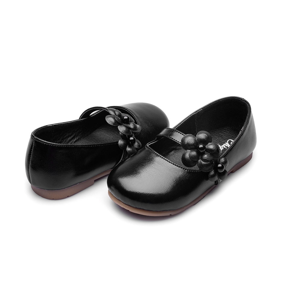 MSMAX Girls Dress Party Shoes Slip On Breathable Children Leather Flower Kids  School Princess Wedding Single Shoes-in Leather Shoes from Mother   Kids on  ... b345d09d0bad