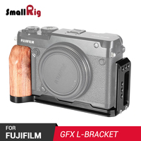 SmallRig L Bracket for FUJIFILM GFX 50R Feature with Arca Stle Quick Release Plate For Vertical or Horizontal Shooting APL2339