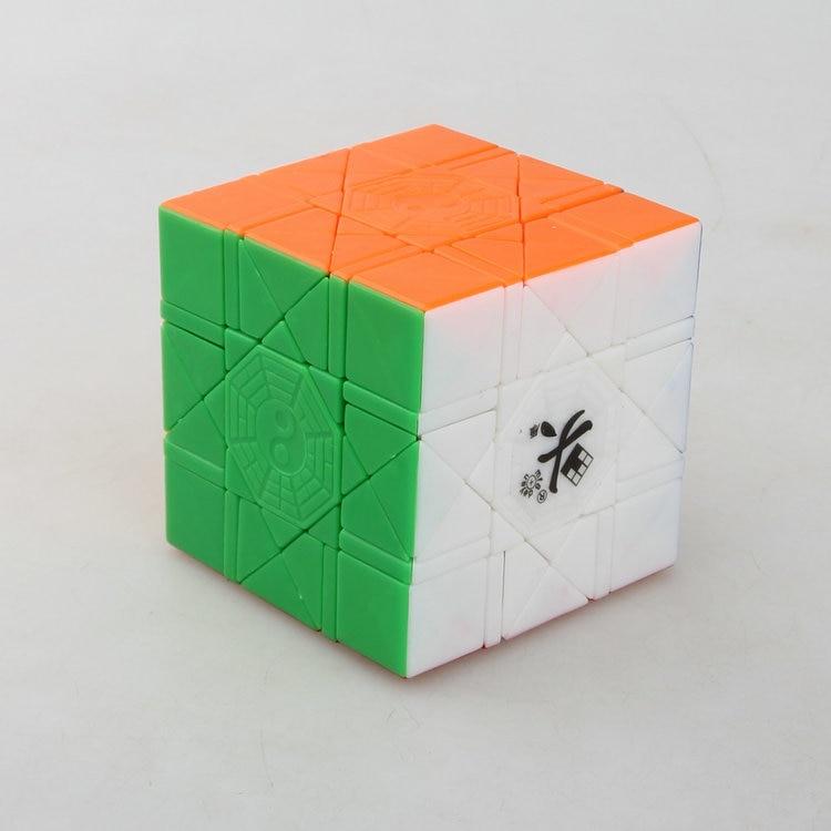 Dayan Bagua Cube Noir/Stless/Wh/Tr 6 axes 8 grade Cube Puzzle Cubo Magico Jouet Éducatif idée cadeau Drop Shipping