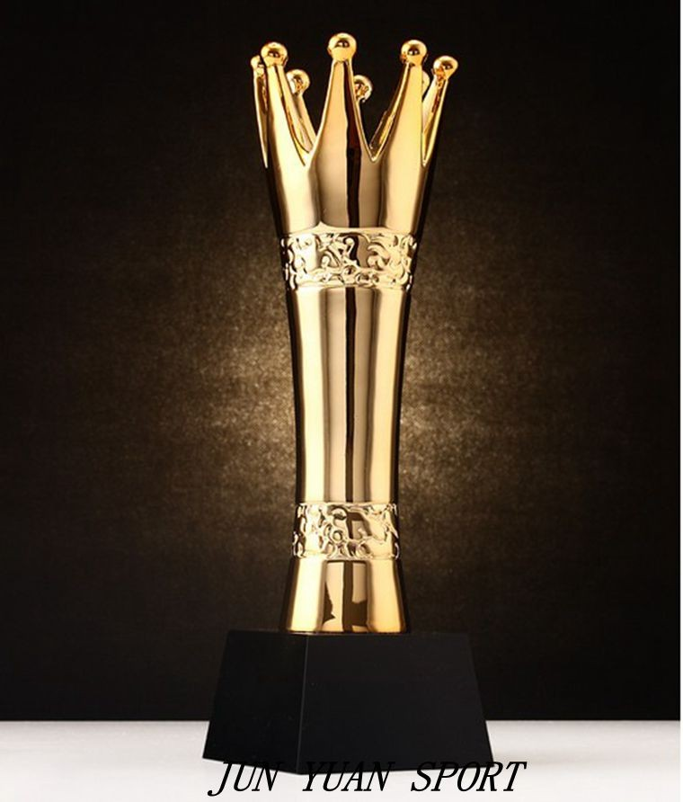 цена на High quality!New Resin Trophies High-Grade Crystal Cup Prize Trophy Model Creative Metal Crown Trophy,Free shipping!