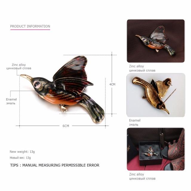 Vintage Bird Brooch For Women