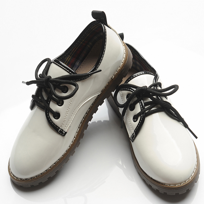 ... ActhInK 2017 New Boys Formal Leather Wedding Shoes England Style Kids  Performance Shoes Gentle Boys PU ... 3a7aedf46b2d