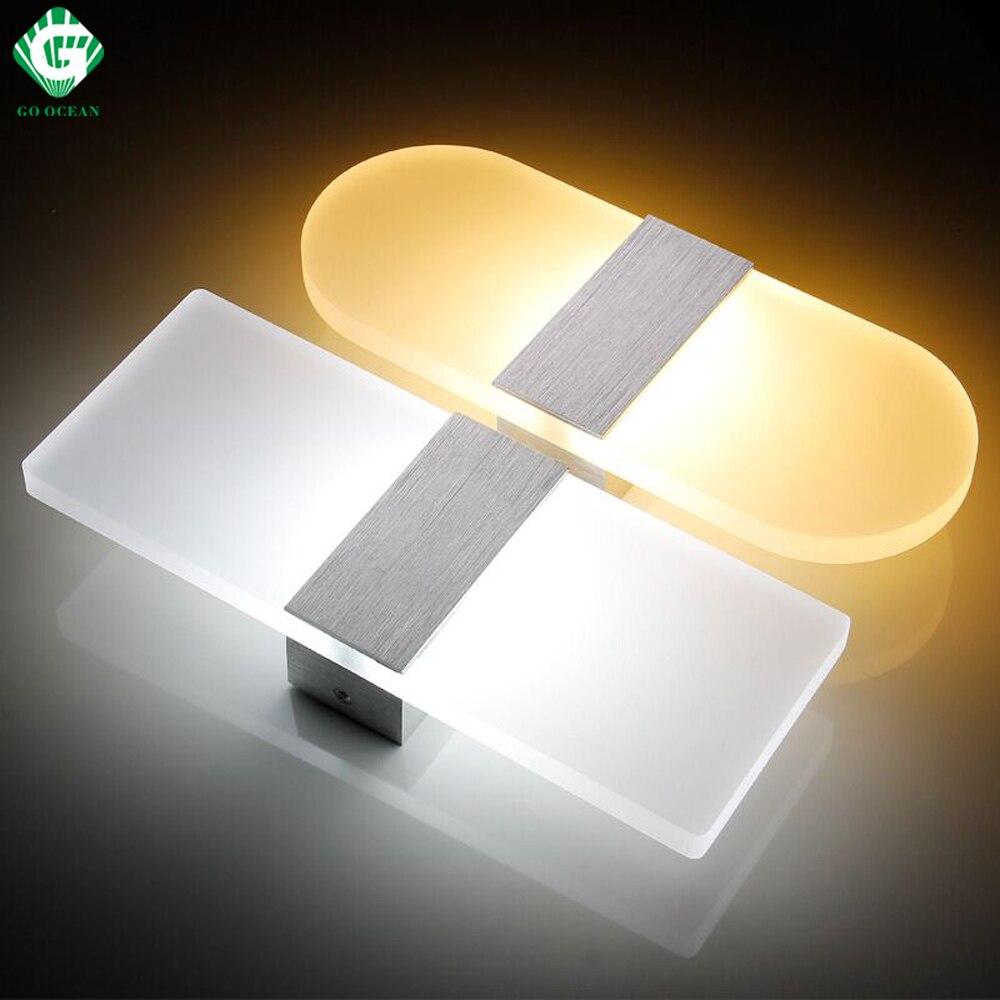 Lâmpadas de Parede metal wall light arandelas luminárias Direção da Sombra : Acima & Abaixo