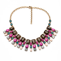 Factory Wholesale Party Display Guardian Angel Necklace 2014 Women Vintage Plastic Chain Necklace