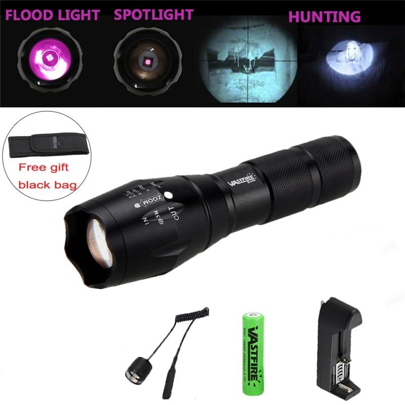 850nm IR illuminator Infrared LED Flashlight IR Lamp Hunting Torch Night Vision