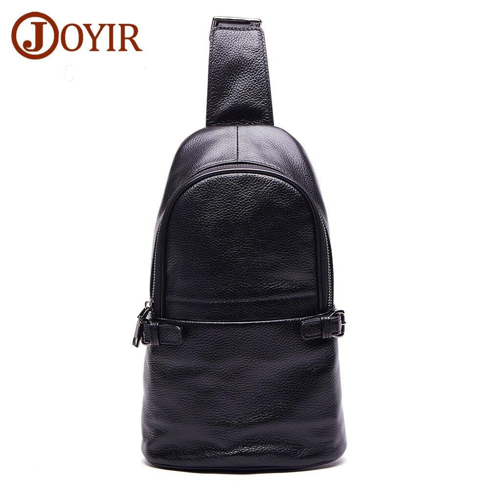 Brand chest bag for men crossbody men's casual genuine leather shoulder bag large capacity male Travel bag Man Messenger bag
