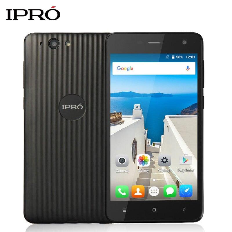 Цена за Оригинал IPRO i950A 3 Г Мобильный Телефон MTK6580M Quad Core 5.0 дюймов 512 М ОПЕРАТИВНОЙ ПАМЯТИ 8 ГБ ROM Celular Android 5.1 Смартфон 2000 мАч
