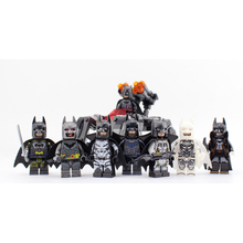 цены на New Compatible LegoINGlys Super Heroes 8 in 1 BATMAN Minifigure Bricks Building Blocks Bat-man Mini Figures Toys For Boys Gift  в интернет-магазинах