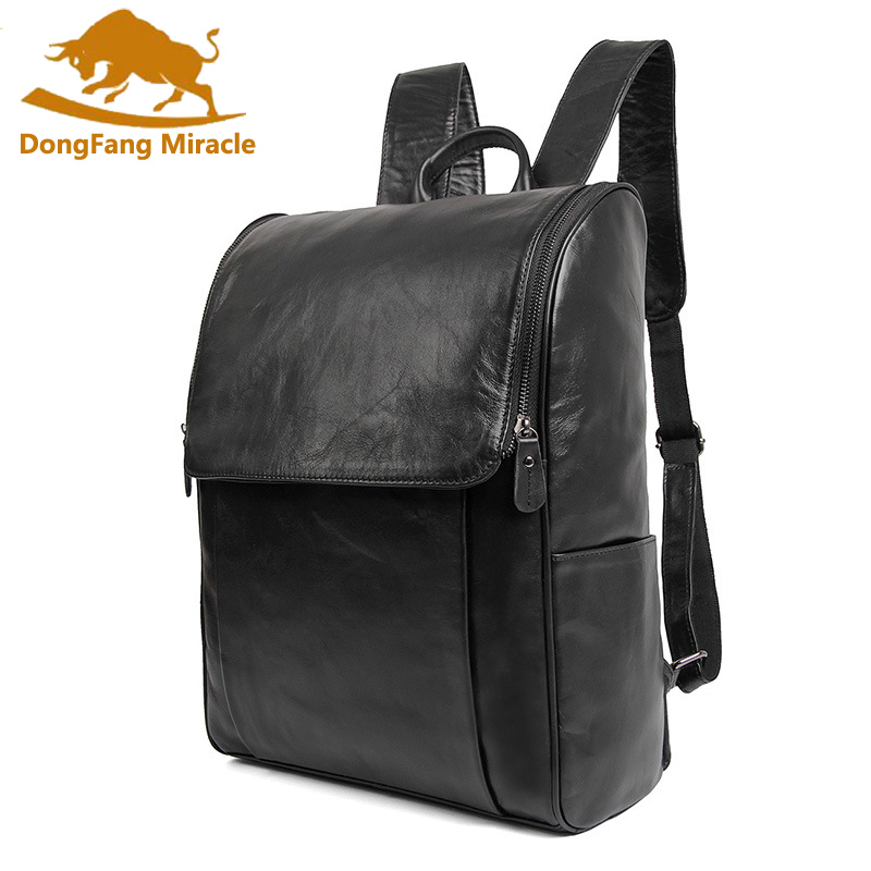 Men Cowhide Genuine Leather Backpacks Vintage School Bags for Girls 14 inch Laptop Unisex Handmade Tote Bags high quality england vintage style genuine leather men backpacks for college school backpacks for 14 inch laptop bags 9024