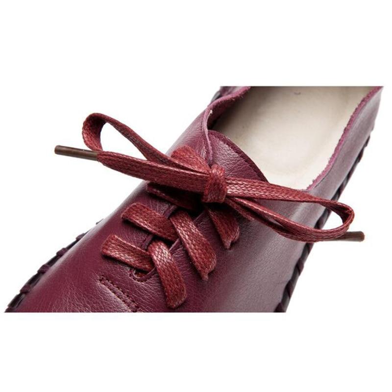 Cuir Ronde Mère À 1 Véritable Fond En Confortables Enceintes Mou Chaussures Pur Coton 5 K240 6 3 Les 4 2 Main Célibataires Femmes La Tête YP7CqP