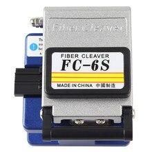 Alta precisão FC-6S fibra óptica cleaver 36,000 vezes fibra óptica ferramenta de corte