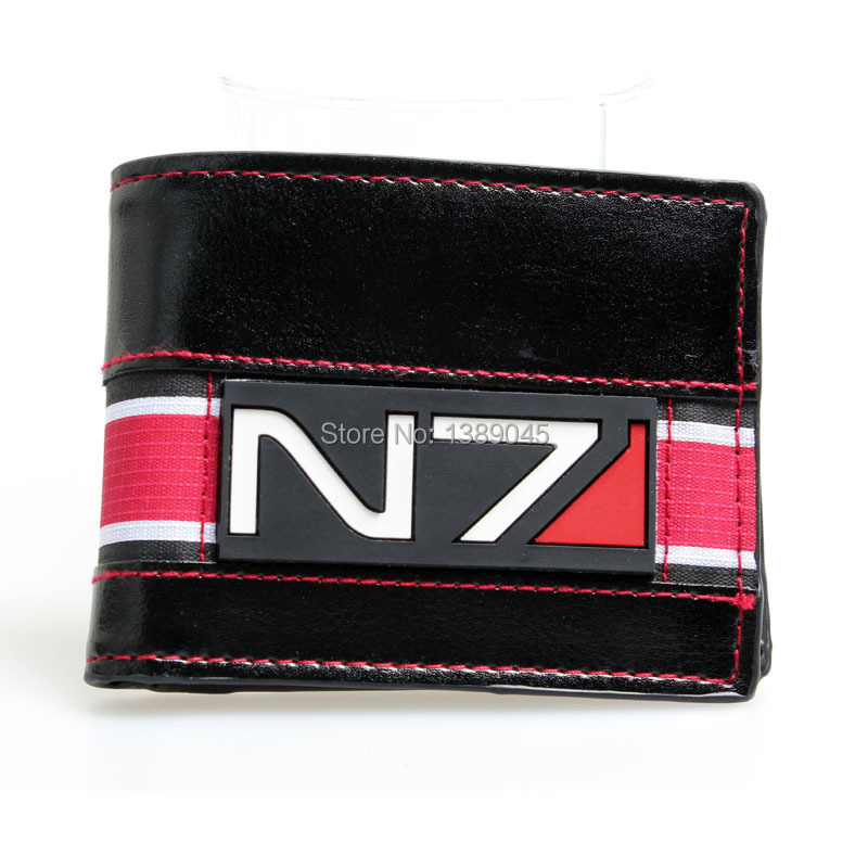 mass effect 3 official N7 game peripheral limited printing wallet youth personality animated cartoon wallet DFT-1022 mass effect volume 4 homeworlds