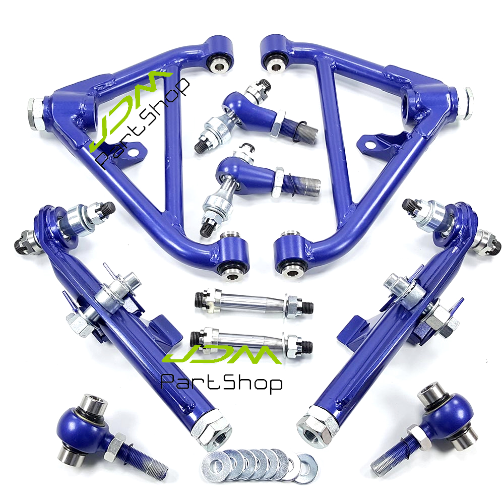 Fit For 240Sx 180Sx S13 S14 Rear Lower Control Arm Adjustable Suspension Purple