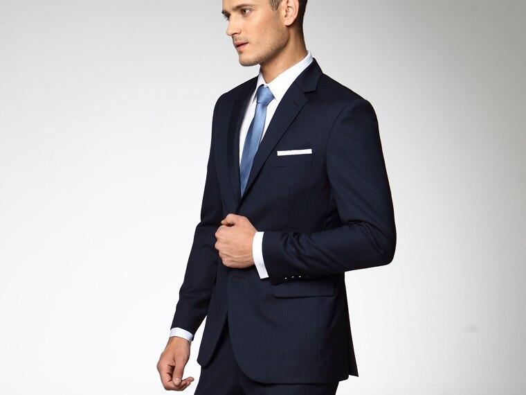be74378a24f5 Traje chaqueta hombre azul marino – Chaquetas de hombre y mujer 2019
