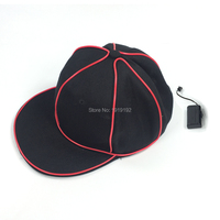 Halloween Hats LED Clothing Neon Terror EL Cap Cold Light Festival Party Glowing Dance Carnival Outdoor