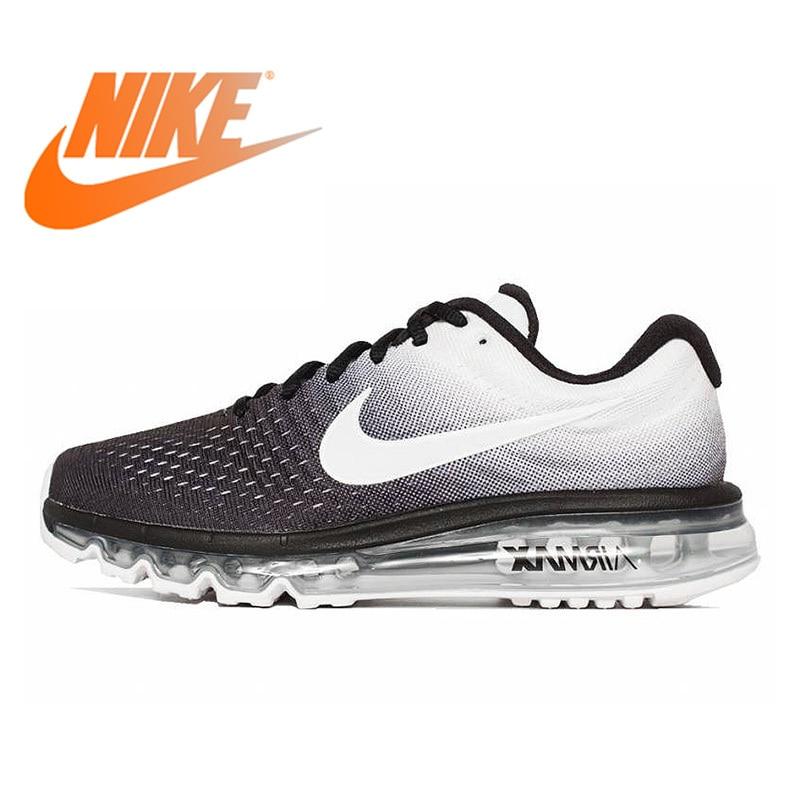 Original authentique Nike AIR MAX respirant chaussures de course pour hommes Sport baskets de plein AIR bas Top marque Designer 849559-010