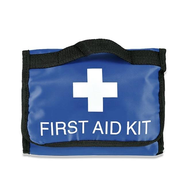Três Dobrar Kits Médicos kit de Primeiros Socorros Kit de Sobrevivência Ao Ar Livre