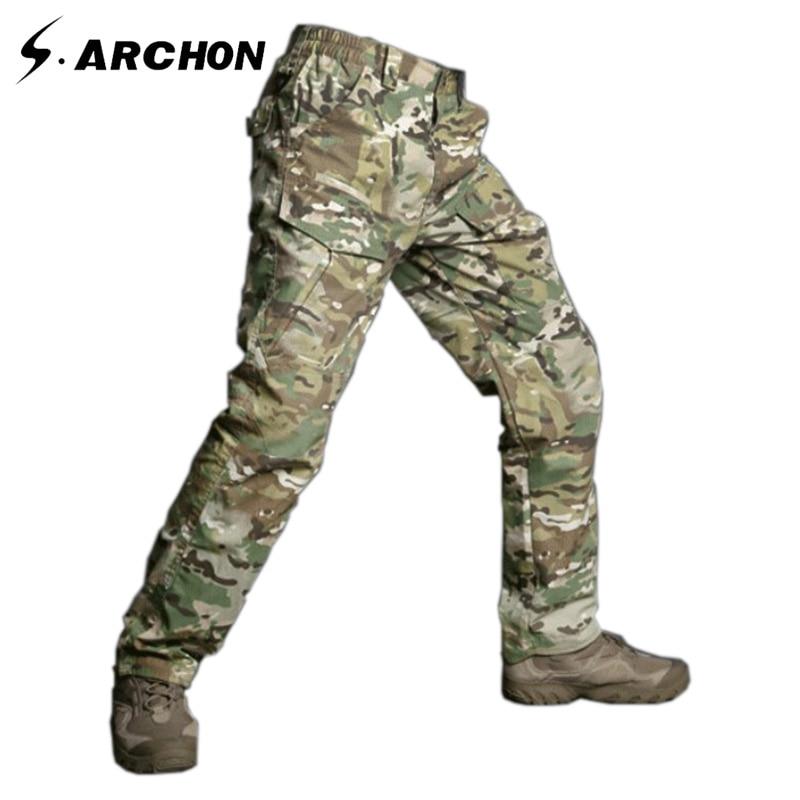 s.archon M2 Taktinės kamufliažo armijos kelnės Vyrams - Vyriški drabužiai - Nuotrauka 1