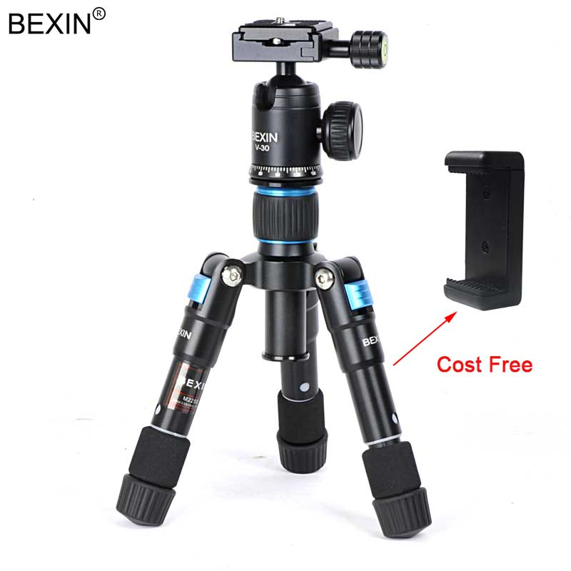 Kamera Reise Professionelle Fotografie smartphone stativ ball kopf mini stativ halterung für Die Canon Nikon DSLR Kamera