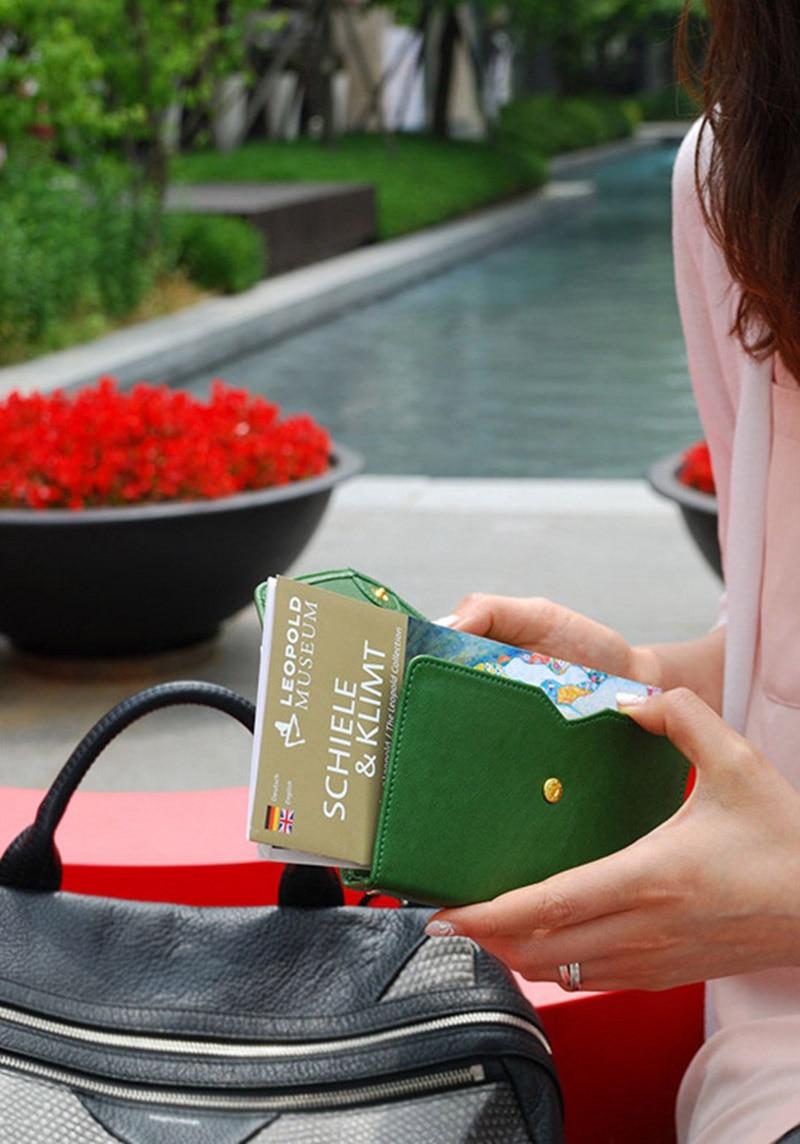 Travel Passport Cover Foldable Credit Card Holder Money Wallet ID Multifunction Documents Flight Bit License Purse Bag PC0045 (1)