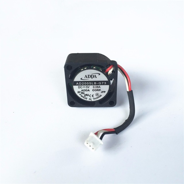 ADDA KD0501PFB3-8 DC <font><b>5V</b></font> 0.3W 2010 20x20x10mm 2cm <font><b>20mm</b></font> three line ball small <font><b>fan</b></font> mini micro <font><b>fan</b></font> image