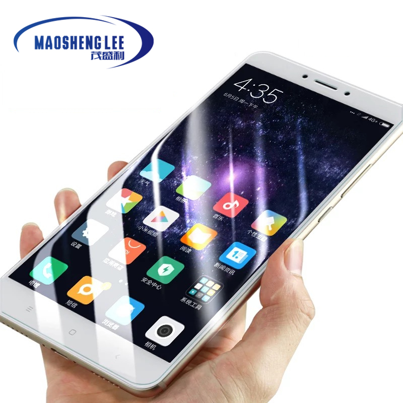 Image 2 - 2Pcs/lot Full Tempered Glass For Xiaomi Mi Max 2 3 Pro Screen Protector 0.26mm 9H Anti Blu ray Glass film for xiaomi mi max 3-in Phone Screen Protectors from Cellphones & Telecommunications