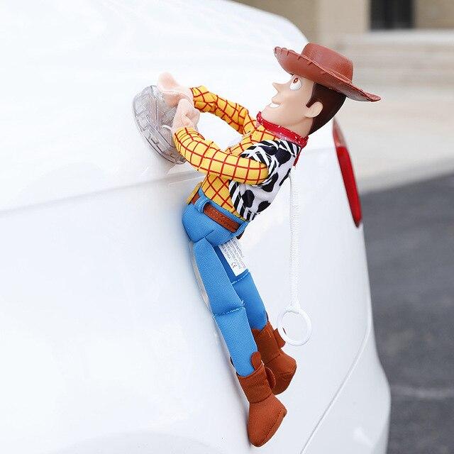 Hot Toy Story Sceriffo Woody Buzz Lightyear Auto Bambole di Peluche Giocattoli Al di Fuori Dello Appendere Giocattolo Carino Accessori Auto Auto Decorazione 20 /35/40 CENTIMETRI 4