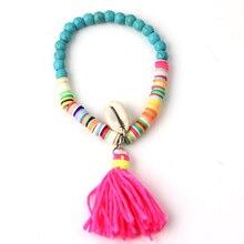 Beach Sea Shell Tassel Bracelets