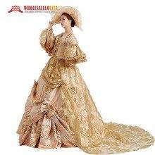 18e siècle vente chaude robe de bal robe de bal rouge Belle robe de bal / Marie Antoinette robe de bal