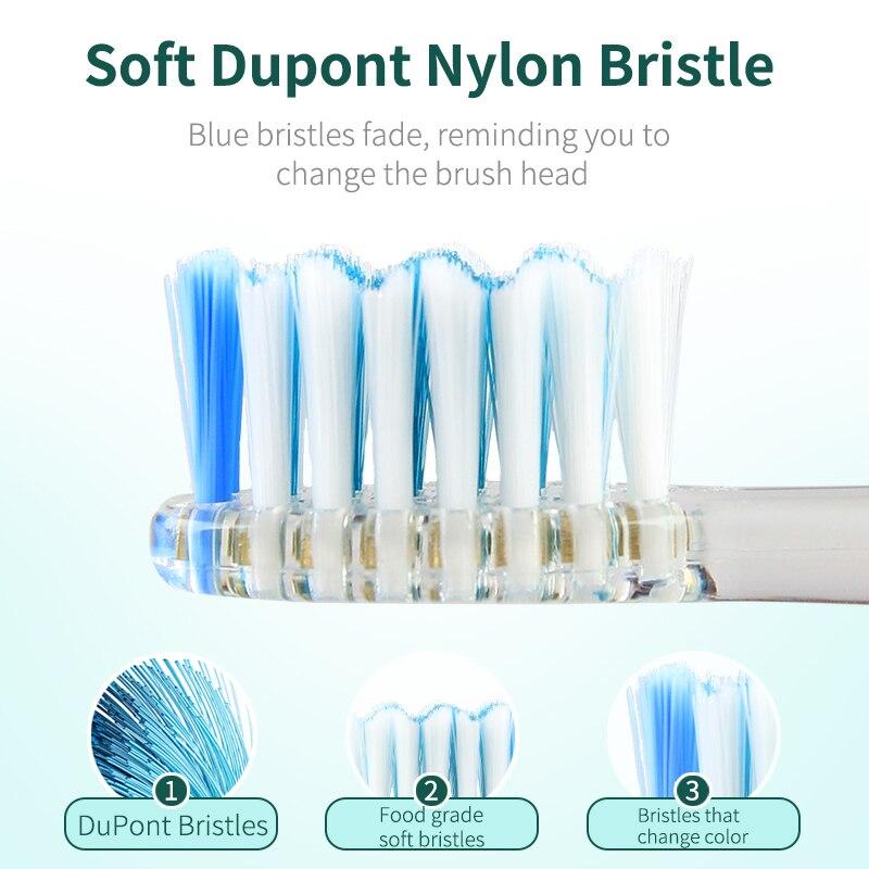 Furça furçë dhëmbësh SEAGO për Fëmijët Dhëmbët e Baterive - Kujdesi personal - Foto 2