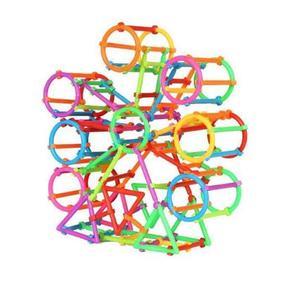Image 2 - 65/120Pcs התאסף אבני בניין DIY חכם מקל בלוקים דמיון יצירתיות למידה חינוכית צעצועי ילדי מתנה ZXH